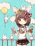 Drawing: bunnies everywhere