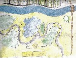 Drawing: Map of Canady Park