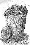 Drawing: Garbage Can