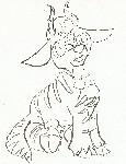 Drawing: Feral Sarah Television