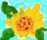 Drawing: My First Flower