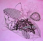 Drawing: Zentangle Inspired Art