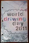 Drawing: world drawing day doodle