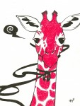Drawing: Mr. Giraffe