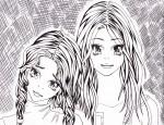 Drawing: Kimberly and Kelly