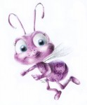 Drawing: Dot from 'A Bug's Life'