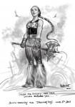 Drawing: Christina the Henesian