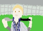 Drawing: Carlisle Cullen: BaseballScene