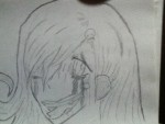 Drawing: Disturbed Girl