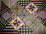 Drawing: Graph Paper Art