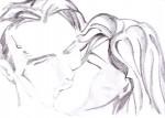 Drawing: kiss me