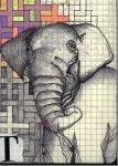 Drawing: elephant