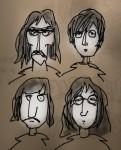 Drawing: Beatle sketch