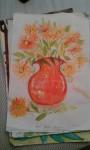 Drawing: FloralVase