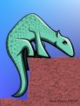 Drawing: Doodle dinosaur