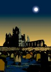 Drawing: Whitby Abbey