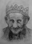 Drawing: An Old Man