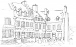 Drawing: Quebec City, Quebec, Canada