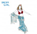 Drawing: Dream girl