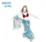 Drawing: Dream girl