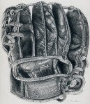 Drawing: My grampas glove by christina McLean