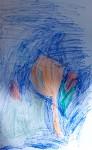 Drawing: Yana Kula, 4 years old