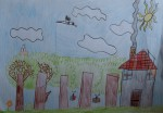 Drawing: Ivailo Masov, 8 years old