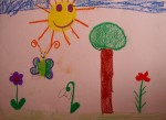 Drawing: Viktoria Kircheva, 7 years old