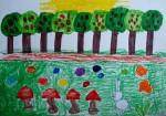 Drawing: Martina Pavlova, 6 years old