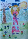Drawing: Preslava Hinova, 9 years old