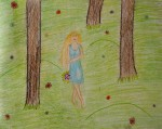 Drawing: Nia Aleksandrova, 10 years old