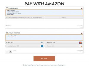 Amazon Pay Page