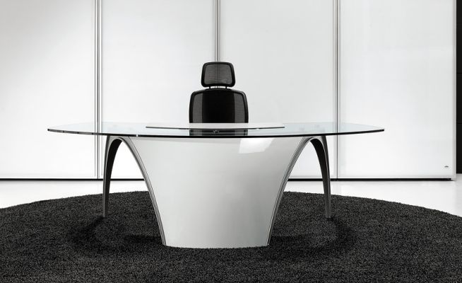 Luna Desk - Contemporary desk
