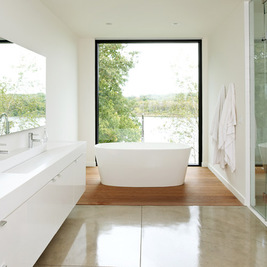 Modern Bathrooms by Christian Dean Architecture