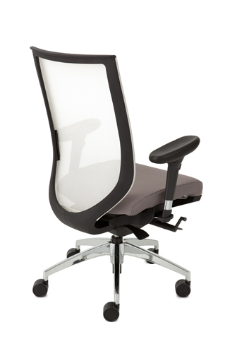 Aria Executive Mesh Back Chair   D R Office Works. Officeworks Chair. Home Design Ideas