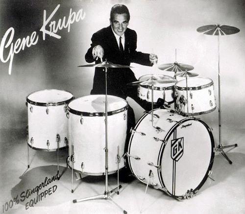 Buddy Rich And Gene Krupa Burnin Beat