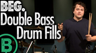 Beginner Double Bass Drum Fills