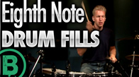 Eighth Note Drum Fills