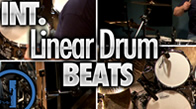 Intermediate Linear Drum Beats
