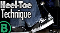 Heel-Toe Technique