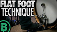 Flat Foot Technique