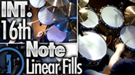 Int. 16th Note Linear Drum Fills