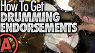 Getting Drum Endorsements