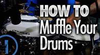 How To Muffle Your Drums