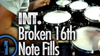 Int. Broken 16th Note Fills