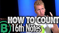 How To Count Sixteenth Notes