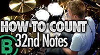 How To Count 32nd Notes