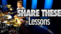 Share These Drum Lessons