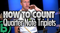 Counting Quarter Note Triplets
