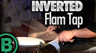 Inverted Flam Tap